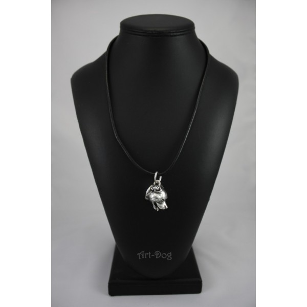 English Staffordshire Bull Terrier necklace