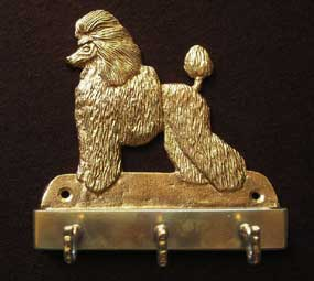 welcome plaque hanger POODLE