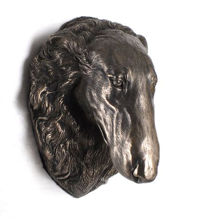 Borzoi statue hang it on the wall