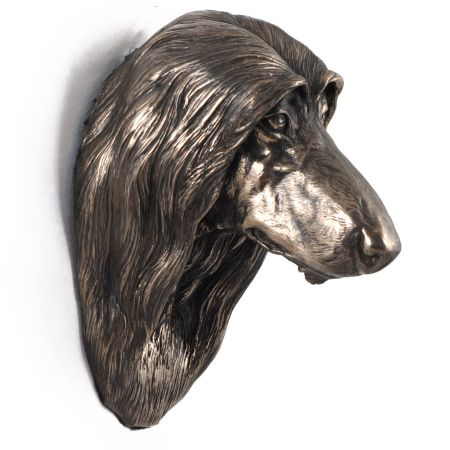 Afghan Hound statue hang it on the wall