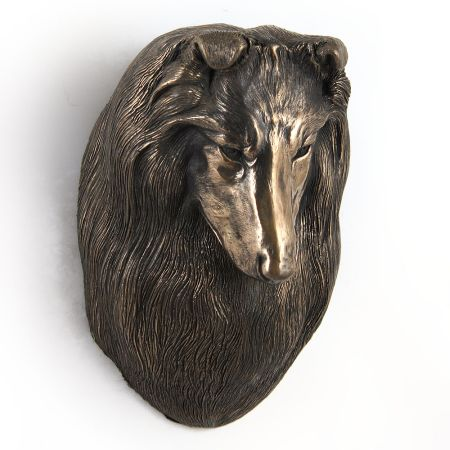 Scottish Sheepdog statue hang it on the wall