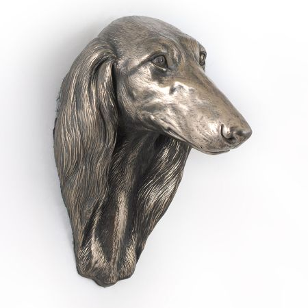 Saluki statue hang it on the wall
