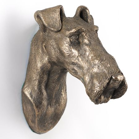 Fox Terrier statue hang it on the wall