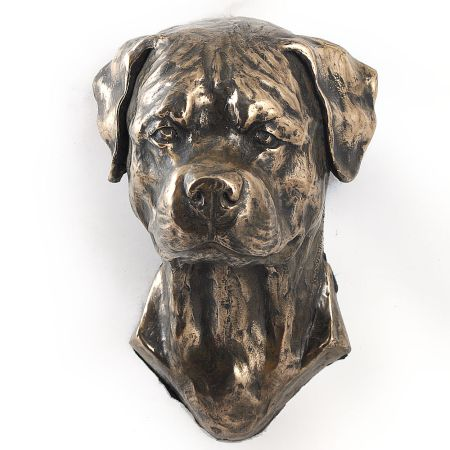 Rottweiler statue hang it on the wall