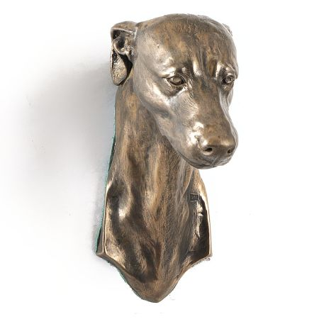 Whippet statue hang it on the wall