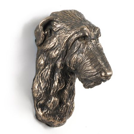 Deerhound statue hang it on the wall