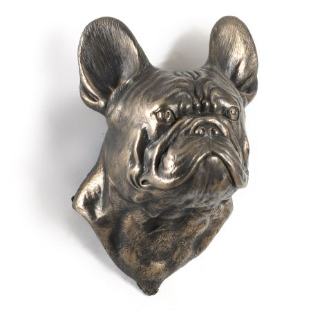 French Bulldog statue hang it on the wall