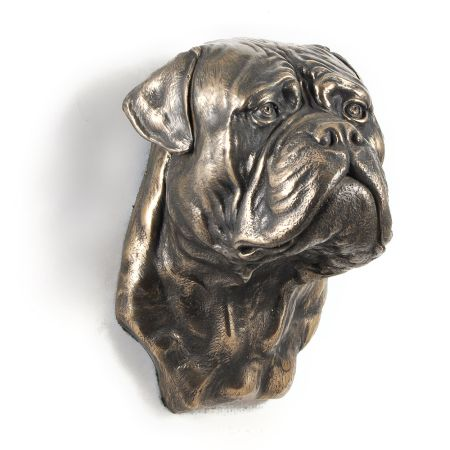 Bullmastiff statue hang it on the wall