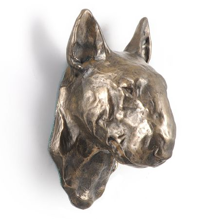 Bullterrier statue hang it on the wall