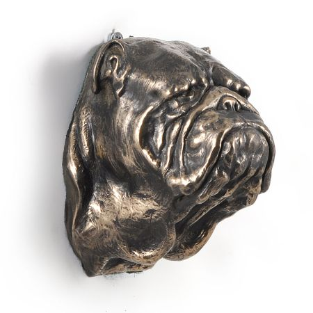 English Bulldog statue hang it on the wall