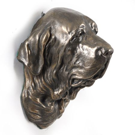 Fila Brasileiro statue hang it on the wall