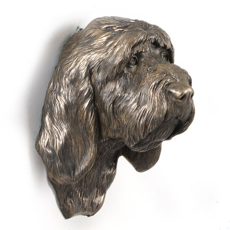 Grand Basset Griffon Vendeen statue hang it on the wall