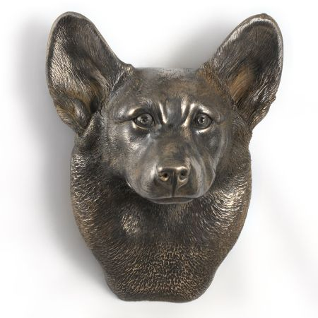 Welsh Corgi statue hang it on the wall