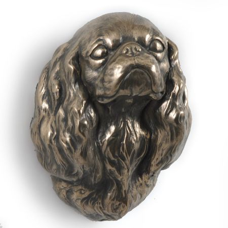 Cavalier King Charles Spaniel statue hang it on the wall